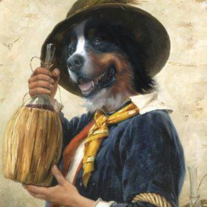 Un nez un vin oeuvre de Daniel Trammer
